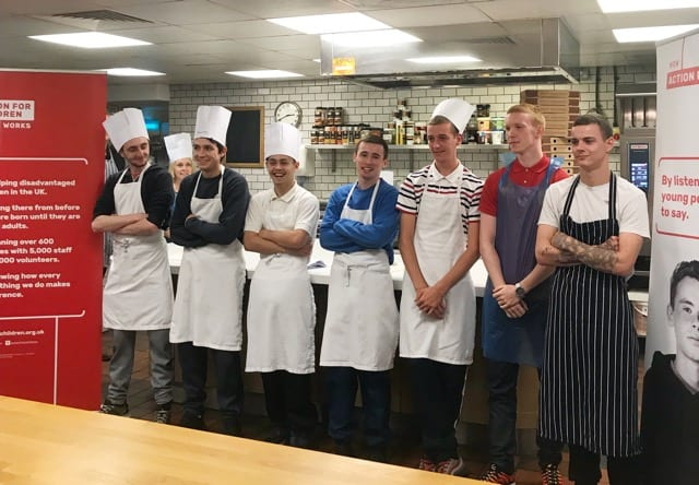 Yes Chef! Launches at Tennents Training Academy