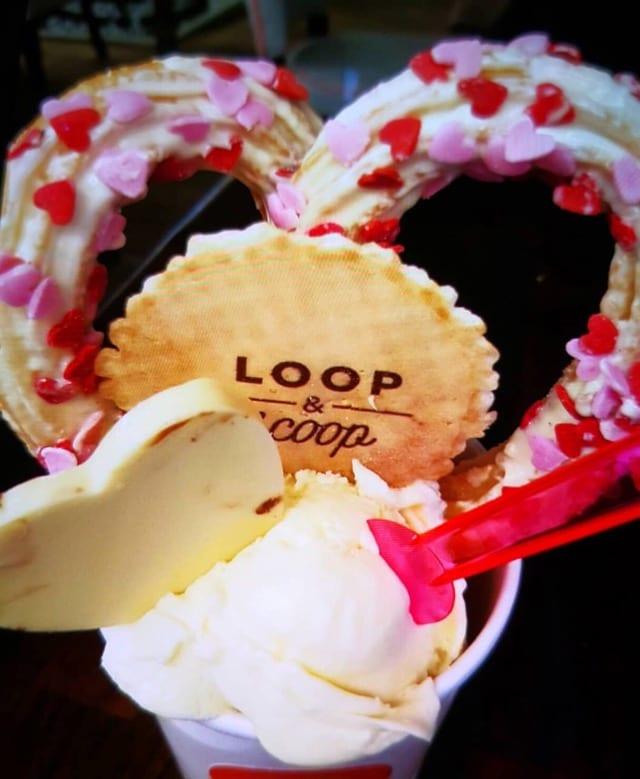Loop and scoop best ice Cream in Glasgow