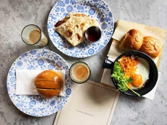 Dishoom Edinburgh breakfast brunch foodie explorers