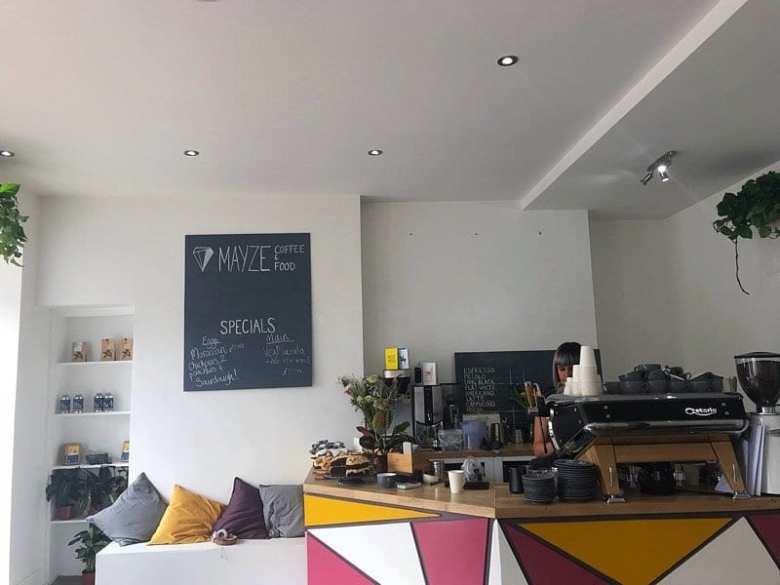 Mayze brunch cafe Finnieston Glasgow