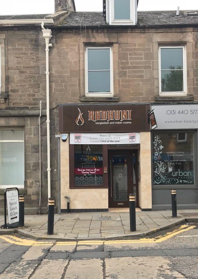 The Radhuni restaurant loanhead Edinburgh foodie Explorers