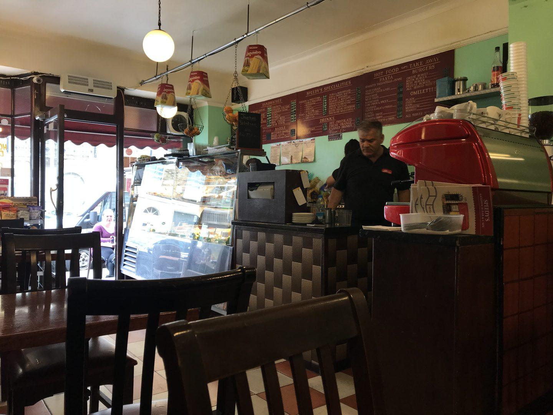 Sherlock speedys cafe London