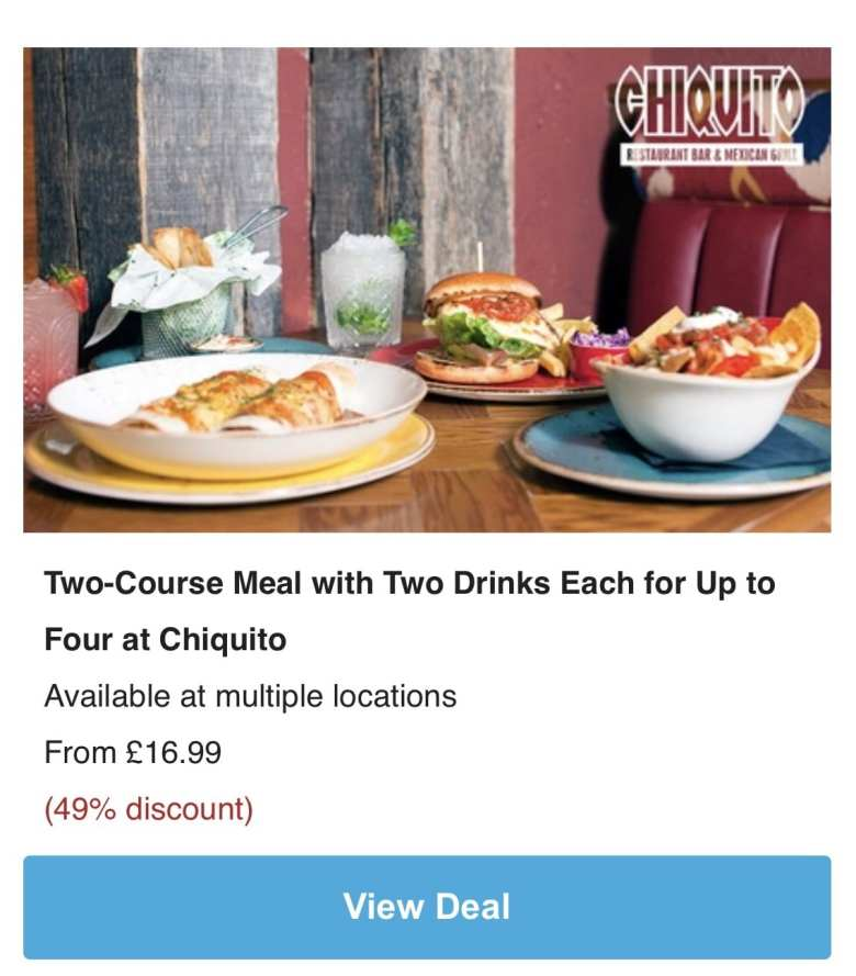 Groupon chipotle deal