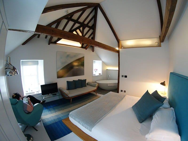 Chapel House, Penzance - bedroom
