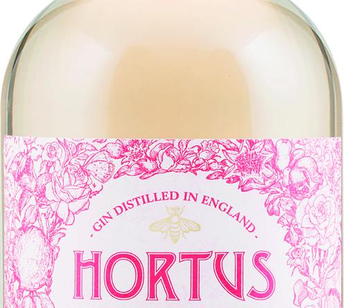 hortus rose and pomegranate gin