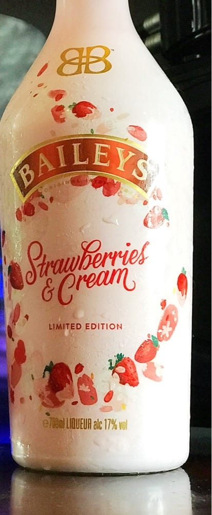 Baileys Strawberries and cream colada cocktail recipe