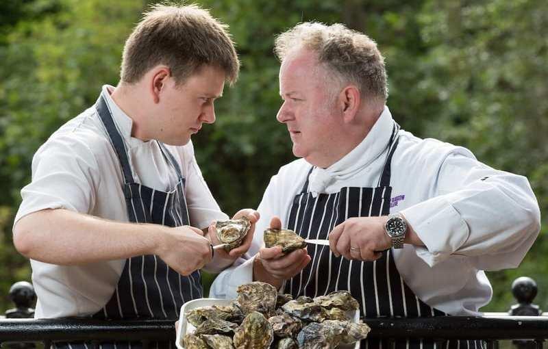 Scottish Oyster Shucking Championship