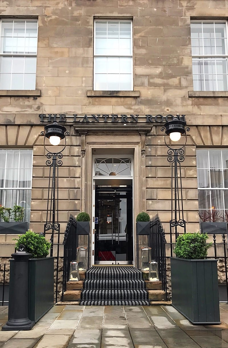 The lantern room Marriott hotel edinburgh foodie Explorers