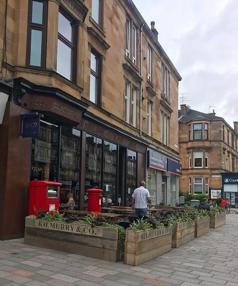 Kilmurray and co Shawlands brunch cafe