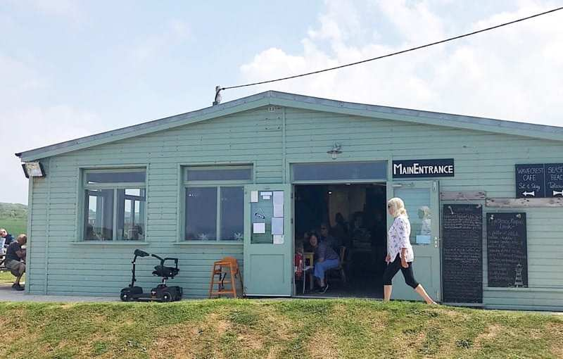 Food review: Wavecrest Cafe, West Angle Bay, Wales