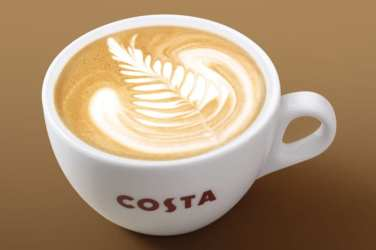 flat-white costa coffee
