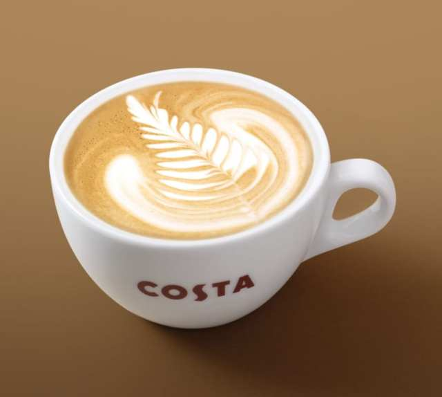 flat-white costa coffee