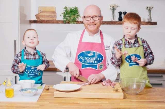 National chef Gary Maclean Scotch Lamb Pgi