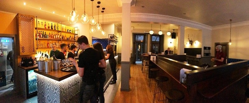 Cul cuil new bar in Glasgow city centre foodie explorers