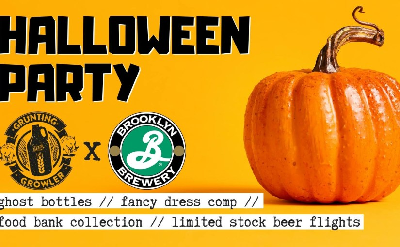 Event: Halloween Party at Grunting Growler