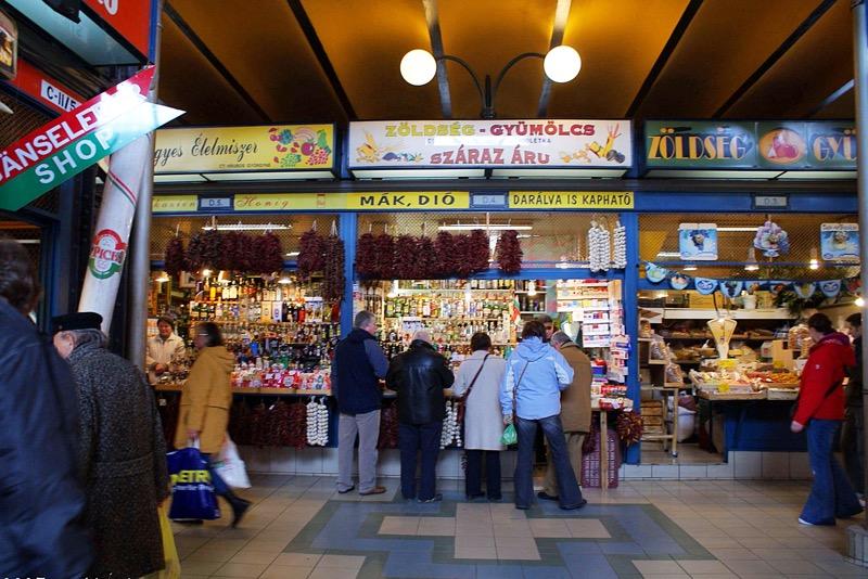Budapest market Hungary