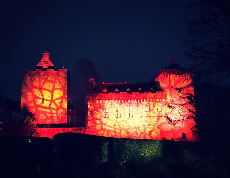 illuminight with lidl dean castle ayrshire