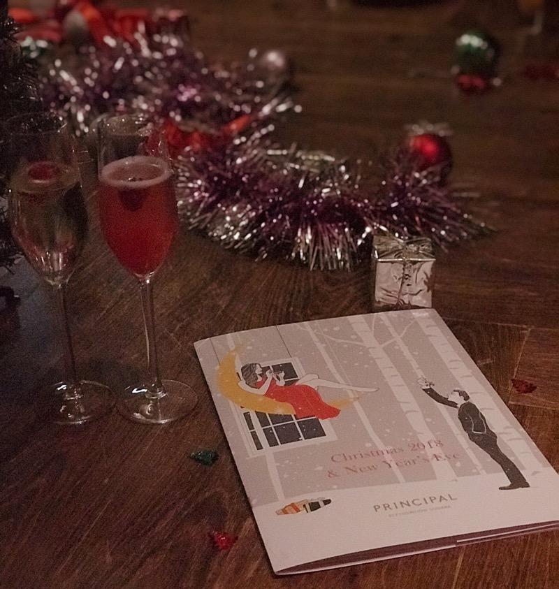 Christmas Blythswood Square glasgow Hotel festive new year