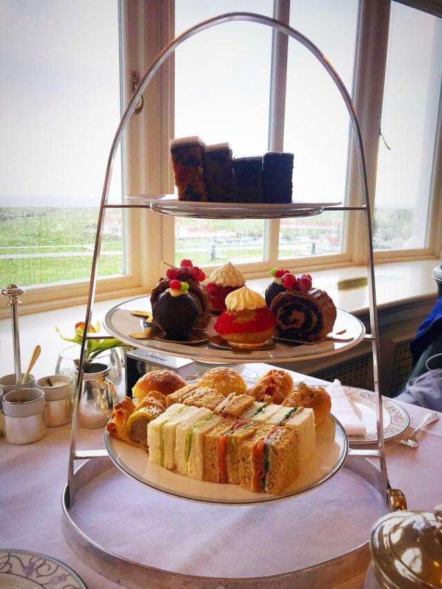 Trump Turnberry hotel festive afternoon tea