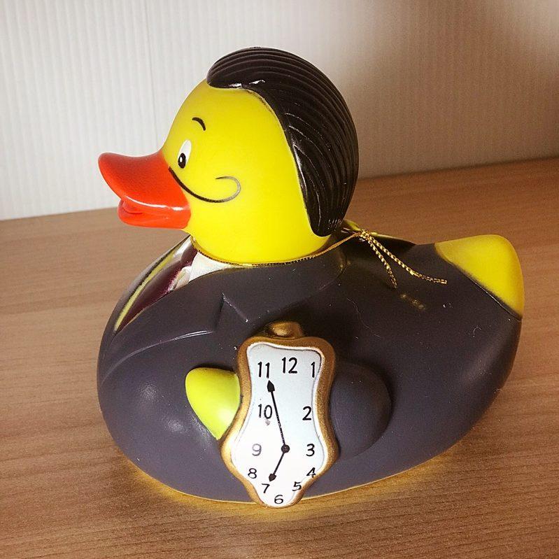 GOMA Salvador Dali bath duck