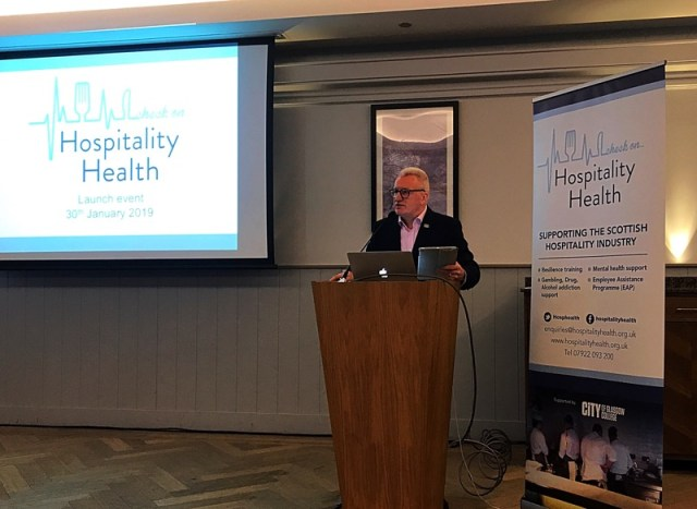 Hospitality health launch Glasgow