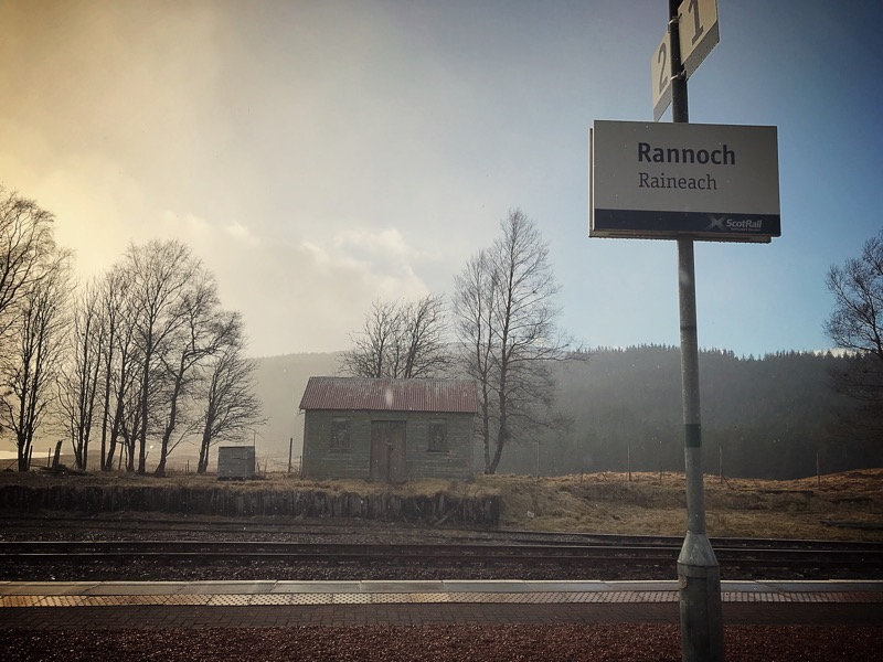 Rannoch Station Tearoom foodie Explorers