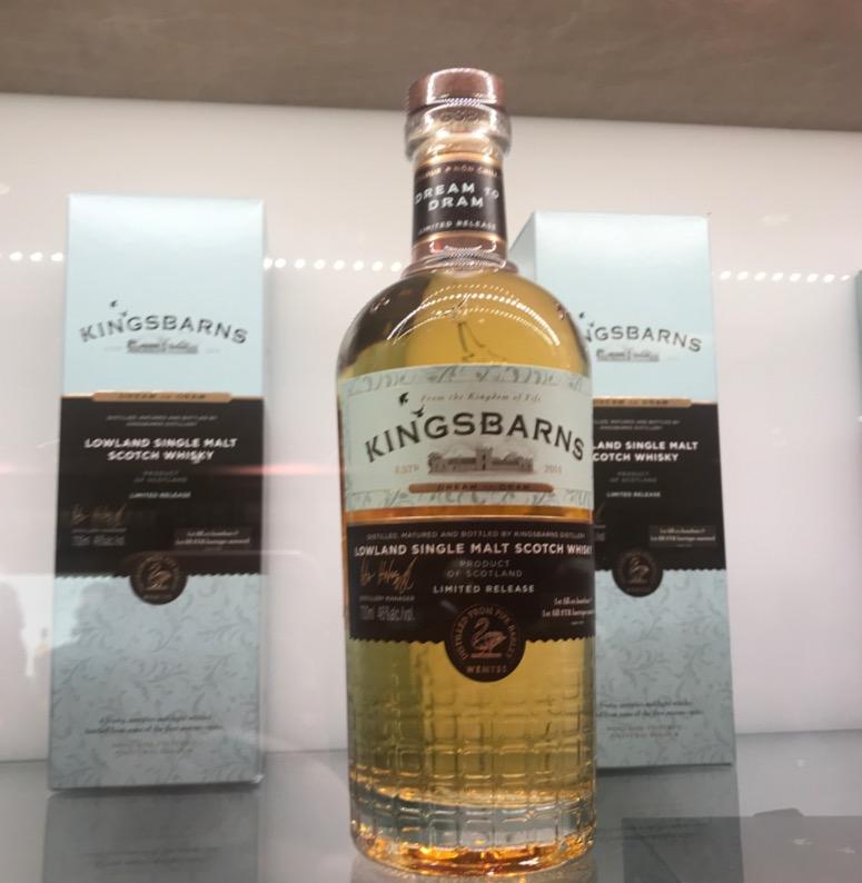 Foodie Explorers Kingsbarns distillery single malt