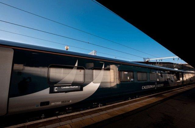Caledonia Sleeper Railway news new carriages
