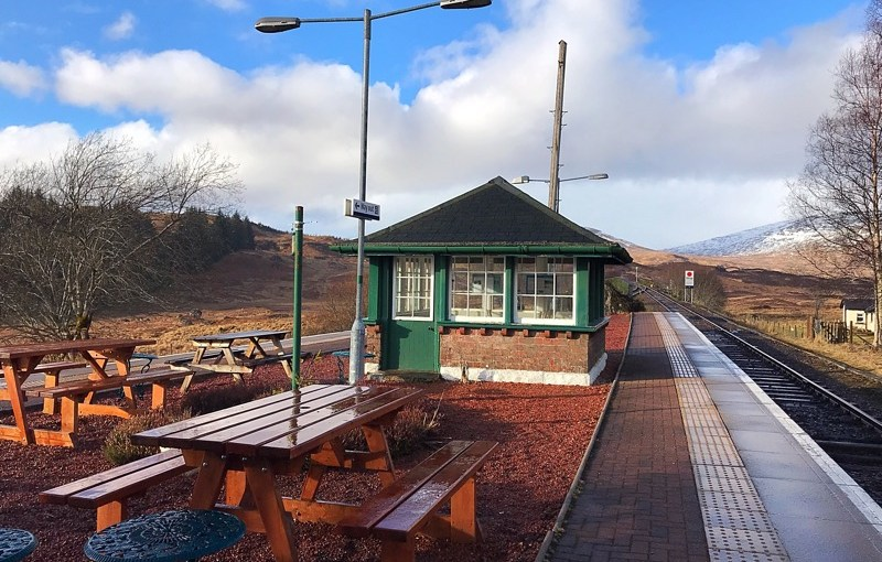Review: Rannoch Station Tearoom, Perthshire