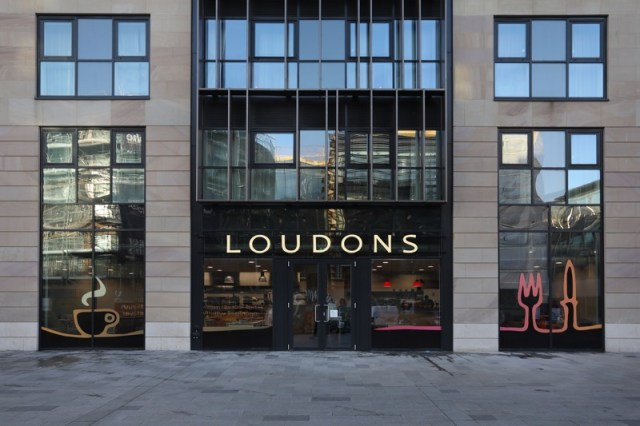 Loudons new Waverley edinburgh