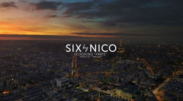 Six by Nico Paris menu