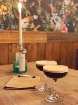 Villager bar food cocktails Edinburgh