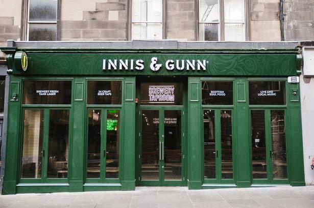 Innis and Gunn Lothian Road edinburgh