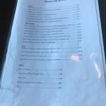 Brasserie Ecosse Dundee Menu