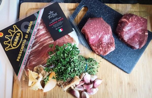 donald russell beef wellington ingredients
