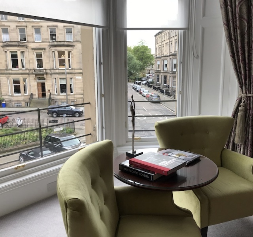 the bonham hotel refurbishment edinburgh