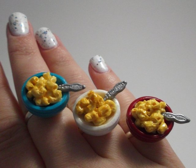 mac and cheese ring