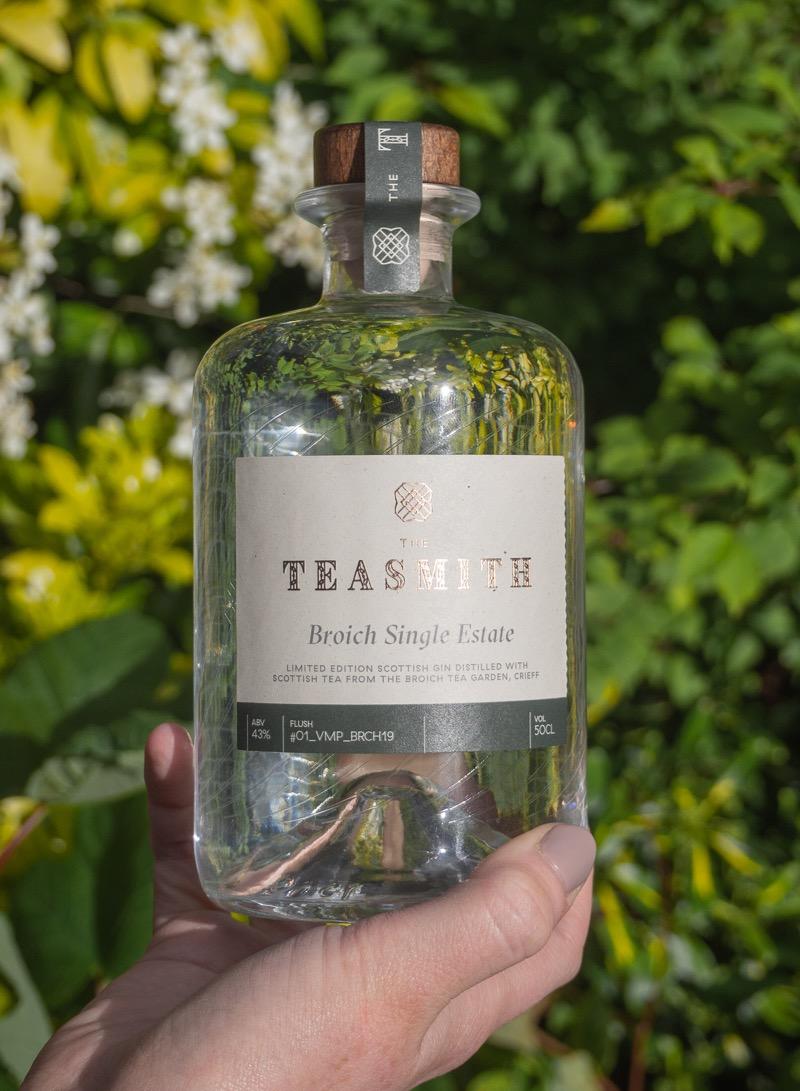 Teasmith Gin scottish Grown tea