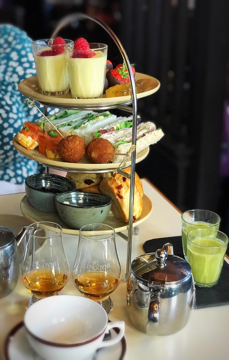 Glengoyne Cannonball edinburgh Afternoon Tea