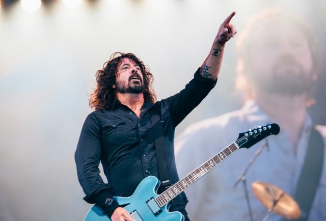 Summer sessions Glasgow foo fighters