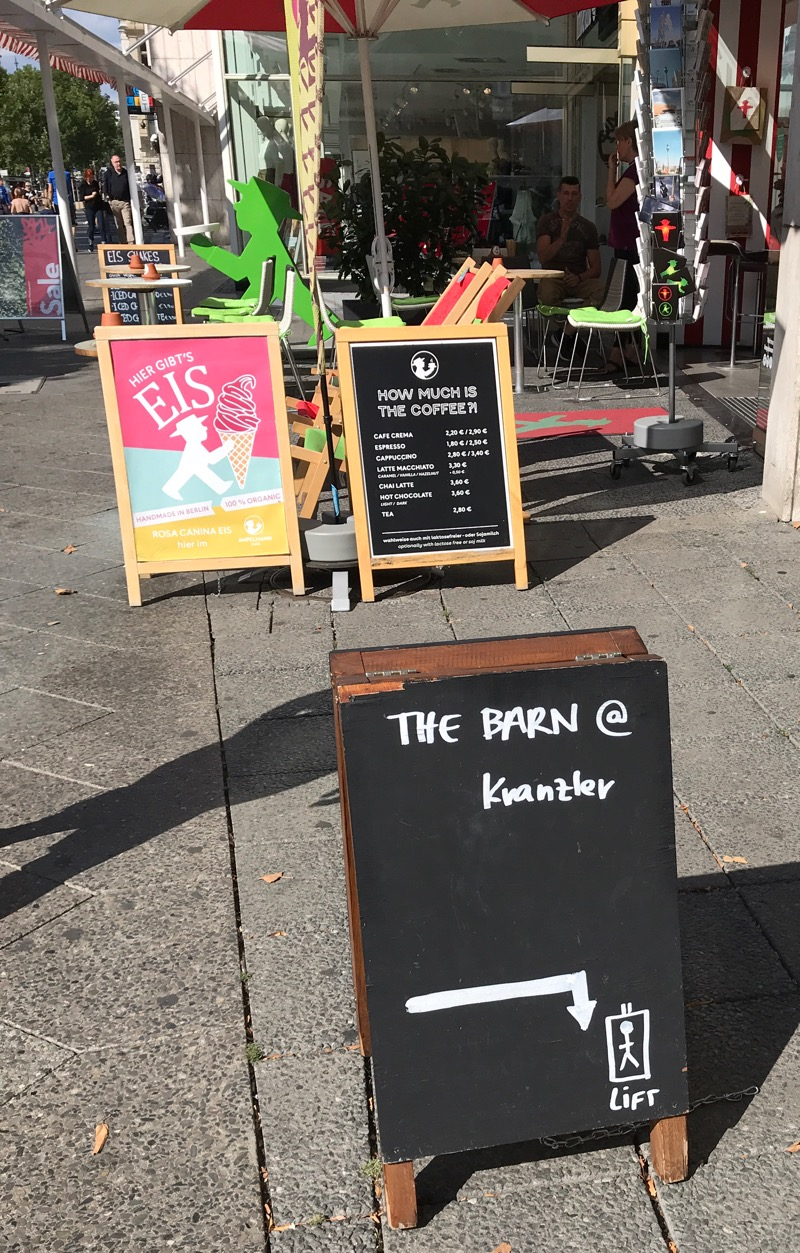 The Barn at Kranzler Eck coffee roasters Berlin