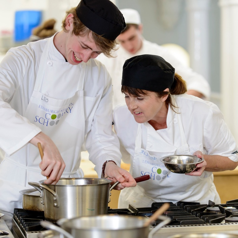 Entcs edinburgh new town Cookery school Scottish Cookery class
