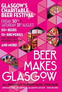 Beer makes Glasgow Festival