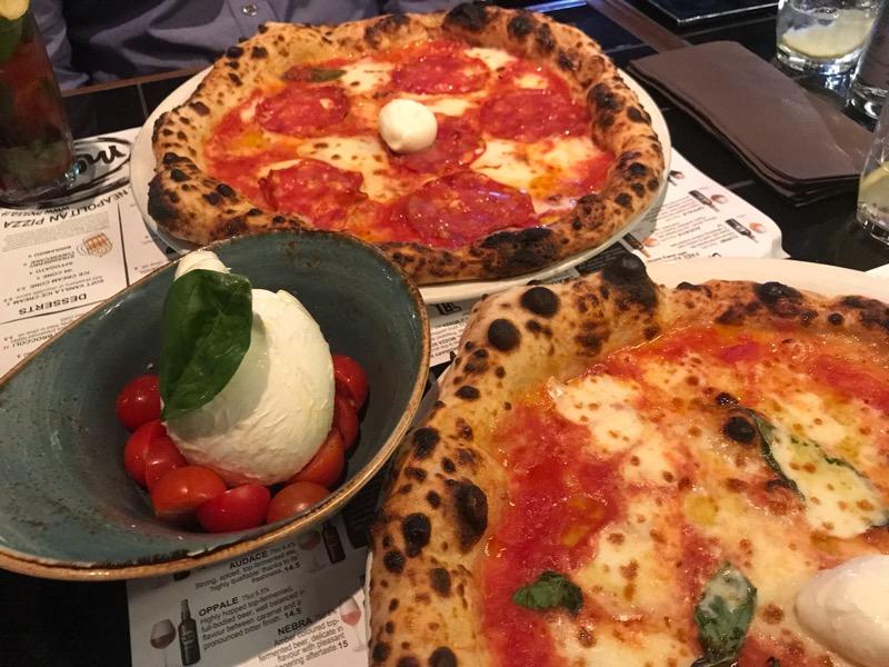 Mozza gourmet pizza Glasgow