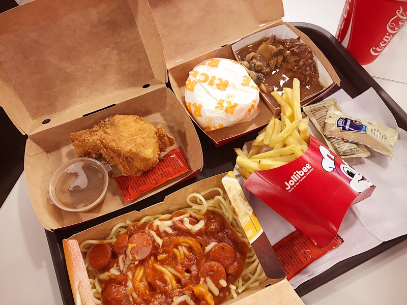 Jollibee London Food