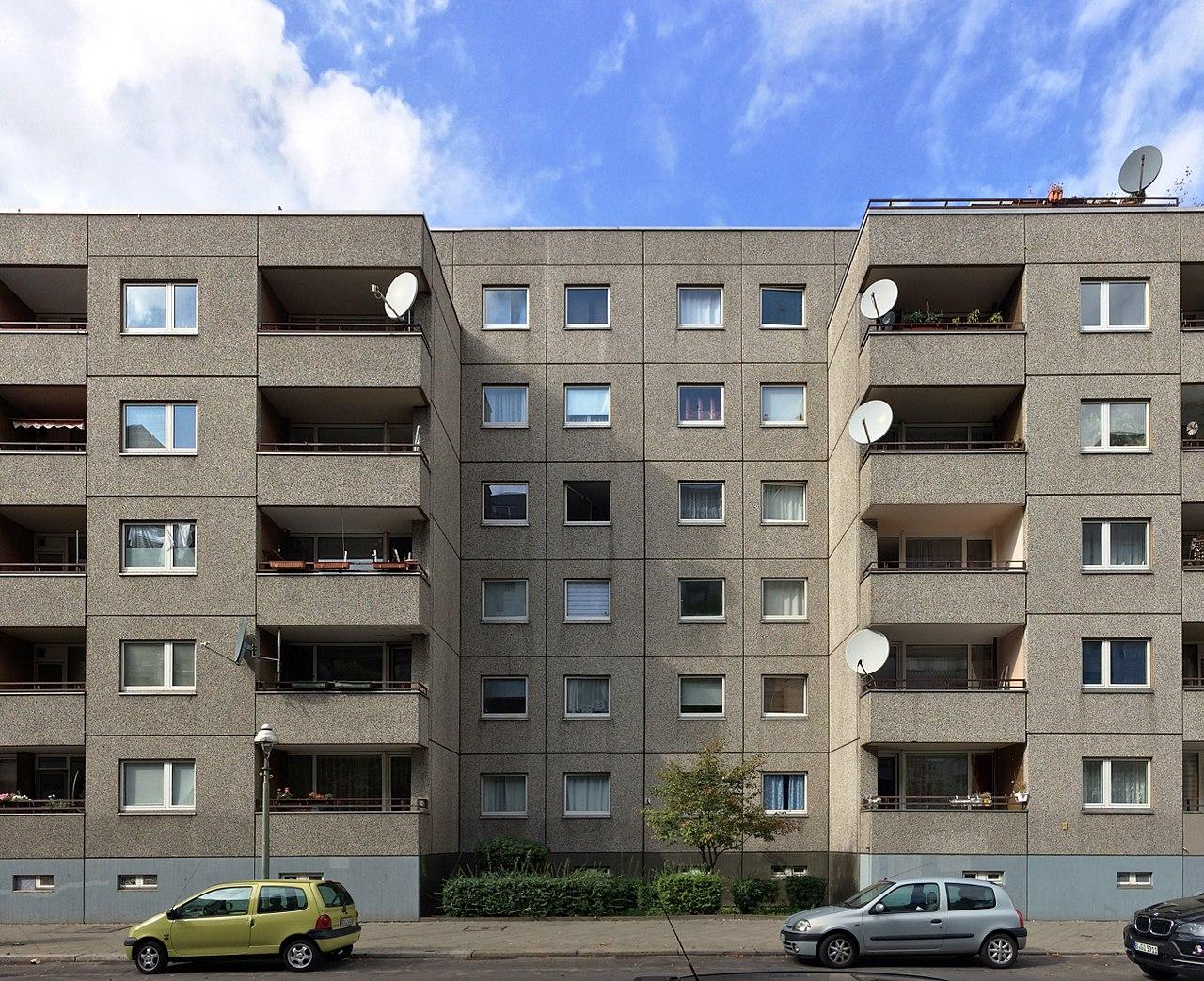 Berlin plattenbau