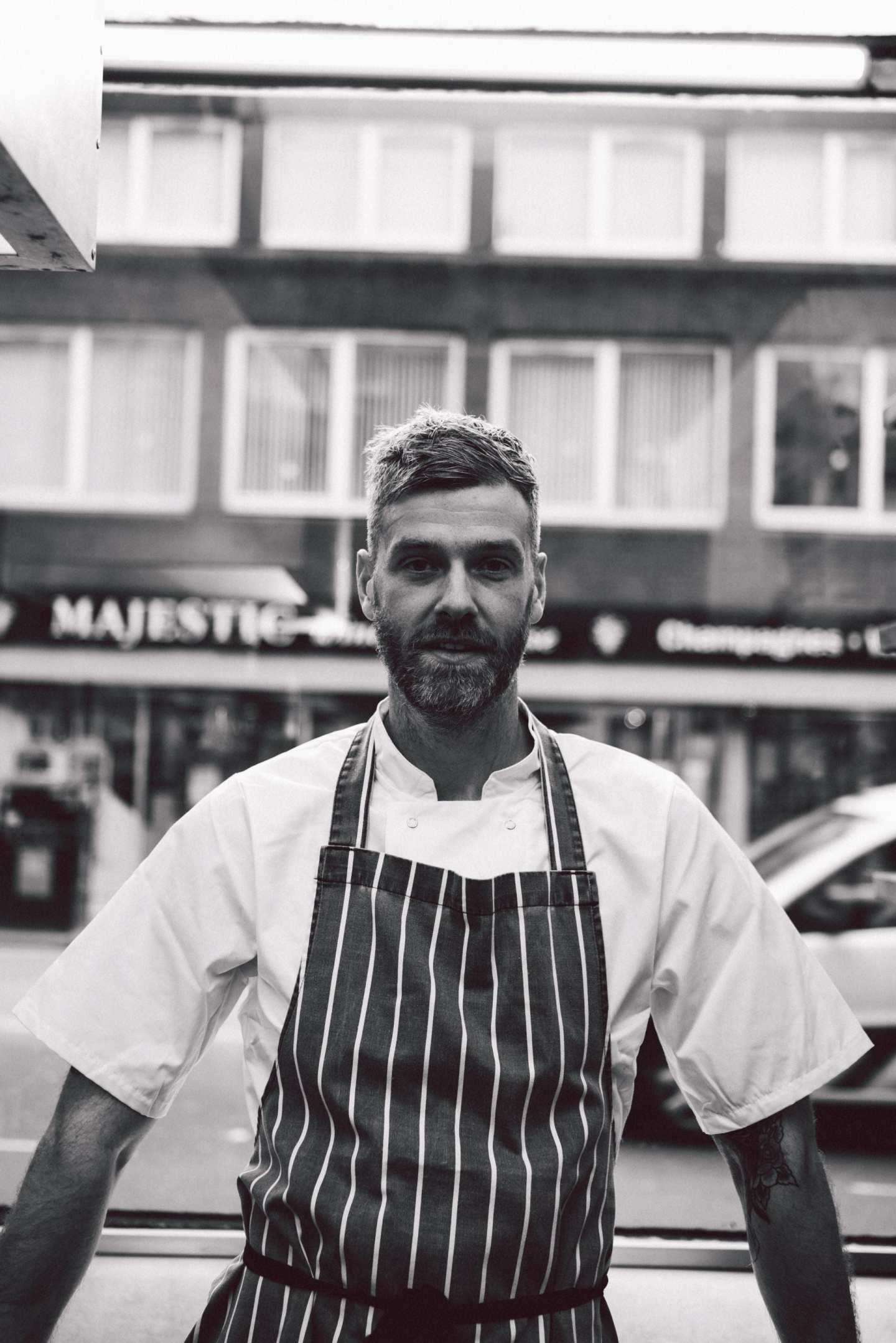 88 west end Glasgow chef