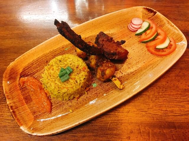 the dhabba glasgow tasting menu