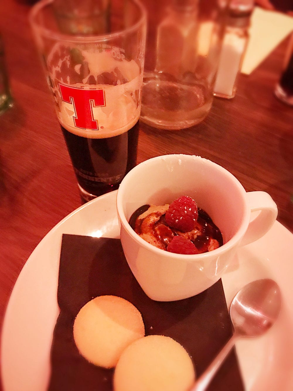 Mharsanta Tennent's food and beer pairing Glasgow