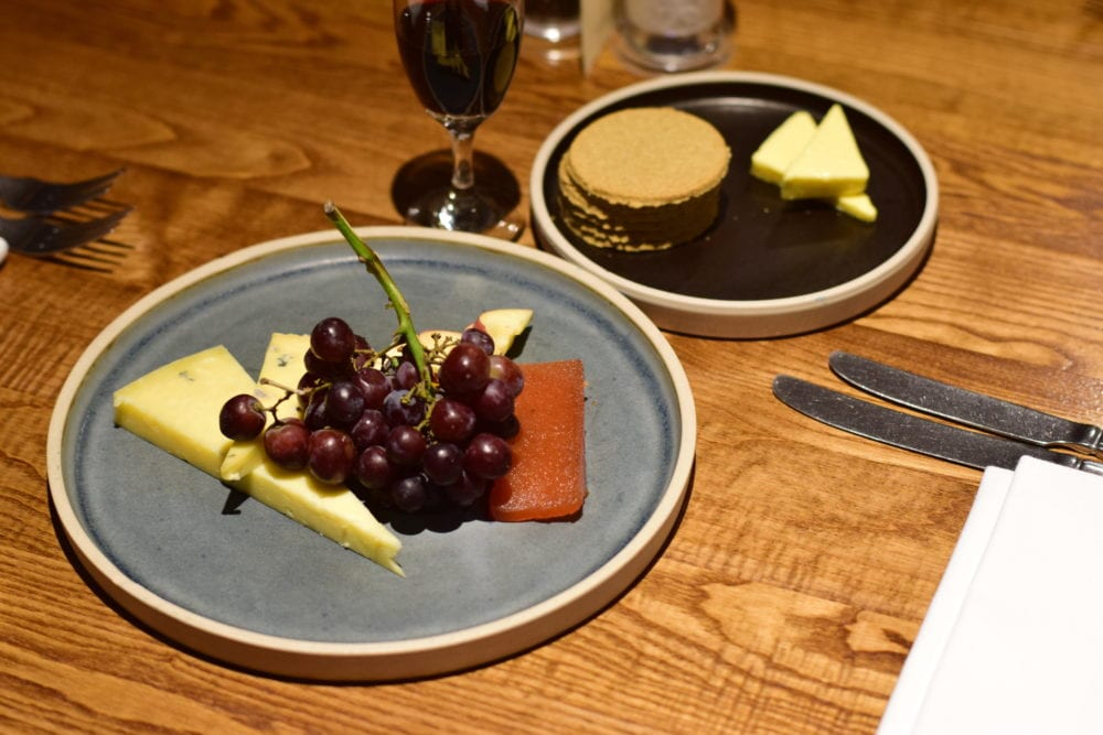 Bridge of Orchy hotel food cheese